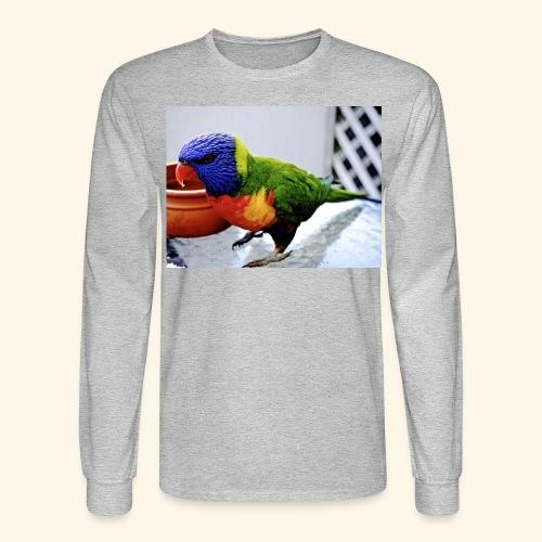 amazing bird - Men's Long Sleeve T-Shirt