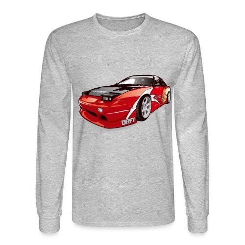 cars drift - Men's Long Sleeve T-Shirt