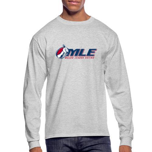 Major League Eating Logo - Men's Long Sleeve T-Shirt