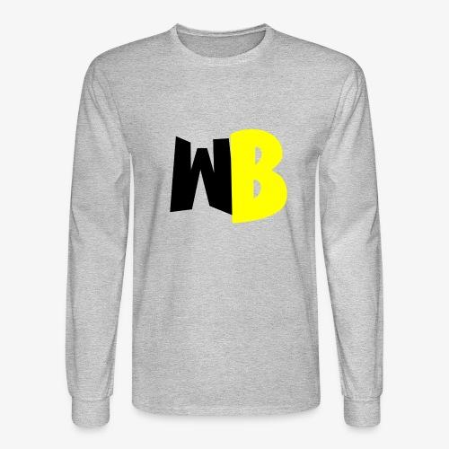 WannaBe letters - Men's Long Sleeve T-Shirt