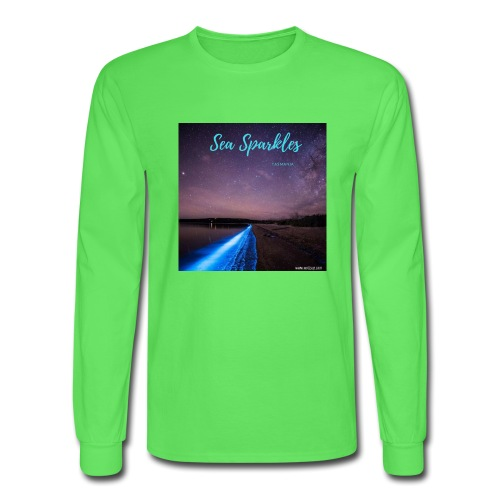 Tasmanian Sea Sparkles - Men's Long Sleeve T-Shirt