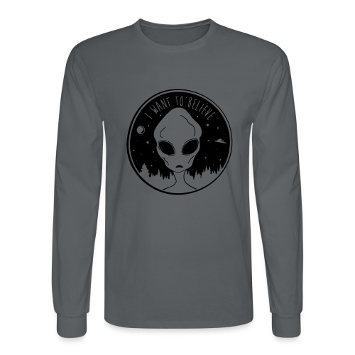 I Want To Believe - Men's Long Sleeve T-Shirt
