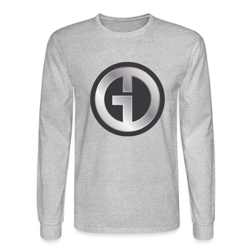 Gristwood Design Logo (No Text) For Dark Fabric - Men's Long Sleeve T-Shirt