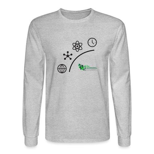 Matter Energy Space Time (Black) - Men's Long Sleeve T-Shirt
