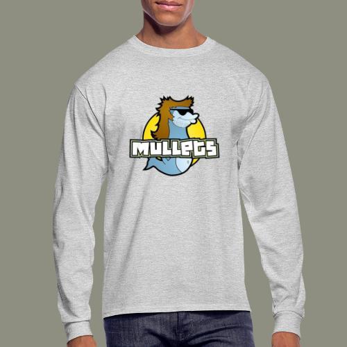 mullets logo - Men's Long Sleeve T-Shirt