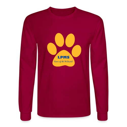 LPMS Logo - Men's Long Sleeve T-Shirt