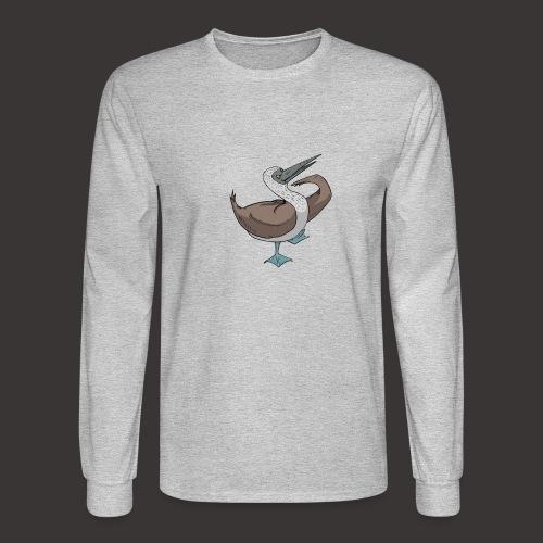 Boobie Bird Mating dance - Men's Long Sleeve T-Shirt