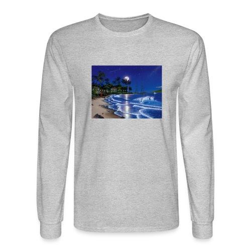full moon - Men's Long Sleeve T-Shirt