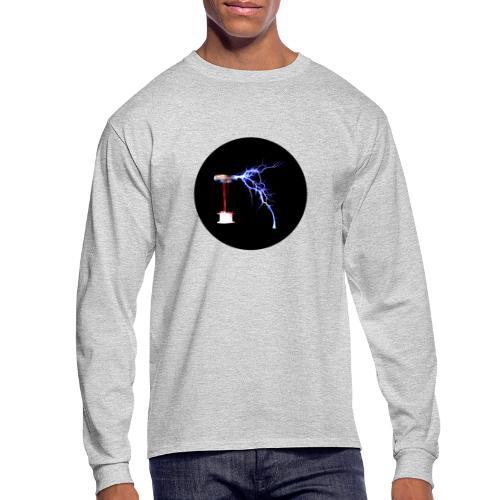 Tesla Coil - Men's Long Sleeve T-Shirt