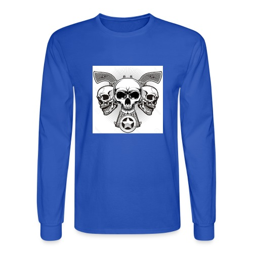 Skulls - Men's Long Sleeve T-Shirt