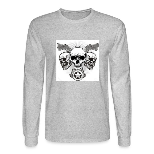 Skulls - Men's Long Sleeve T-Shirt