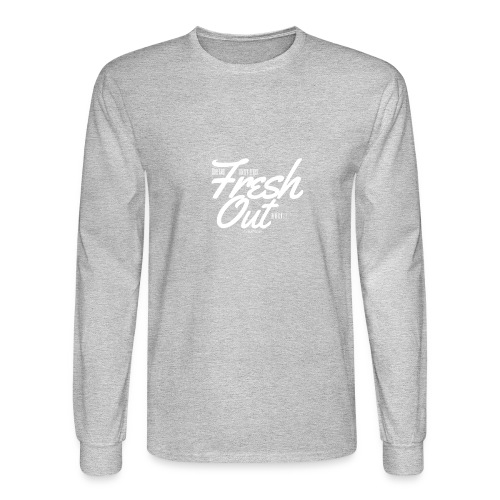 Fresh Out Beats Logo 24 - Men's Long Sleeve T-Shirt