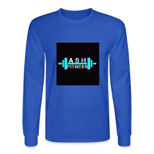 ASH FITNESS ACCESSORIES - Men's Long Sleeve T-Shirt