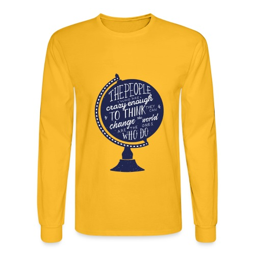 change the world - Men's Long Sleeve T-Shirt