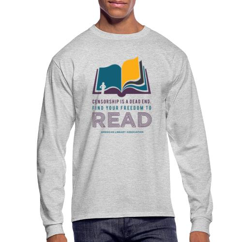 Find Your Freedom to Read - Men's Long Sleeve T-Shirt