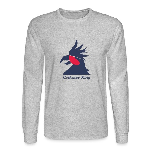 Cockatoo Logo - Men's Long Sleeve T-Shirt