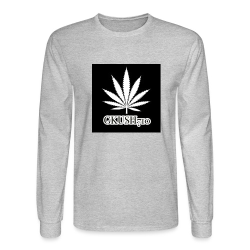 Weed Leaf Gkush710 Hoodies - Men's Long Sleeve T-Shirt