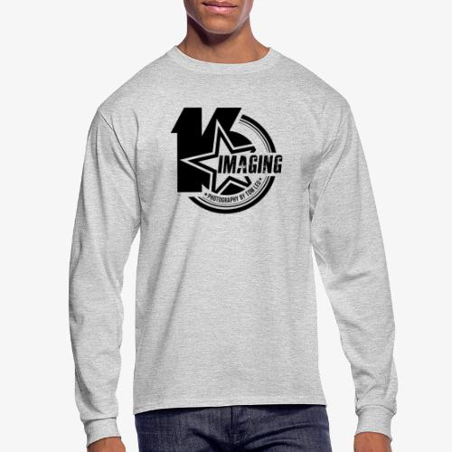 16IMAGING Badge Black - Men's Long Sleeve T-Shirt