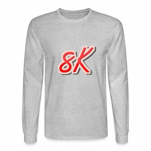8K - Men's Long Sleeve T-Shirt