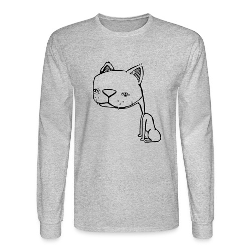 Meowy Wowie - Men's Long Sleeve T-Shirt