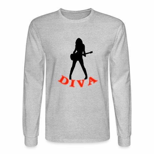 Rock Star Diva - Men's Long Sleeve T-Shirt
