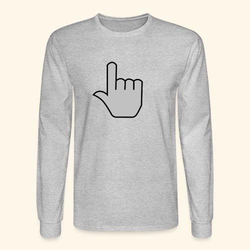 click - Men's Long Sleeve T-Shirt