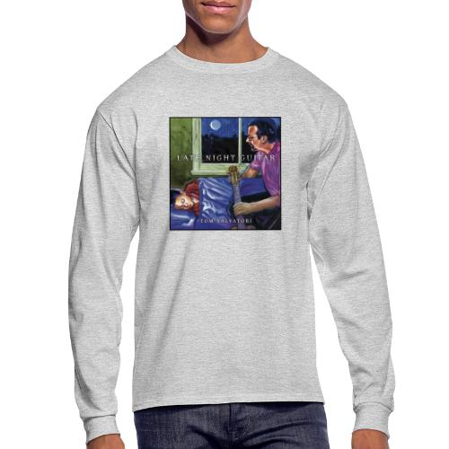 Cover Late Night Guitar - Men's Long Sleeve T-Shirt