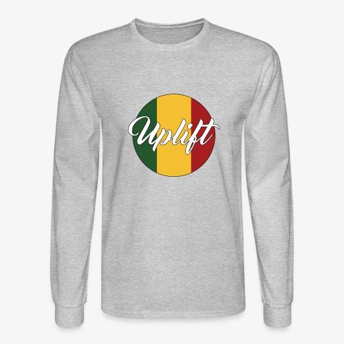 Uplift Rasta Basic // - Men's Long Sleeve T-Shirt