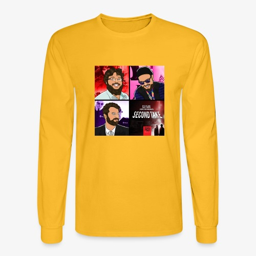 Second Take Cover - Men's Long Sleeve T-Shirt