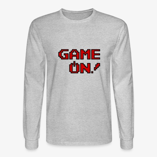 Game On.png - Men's Long Sleeve T-Shirt
