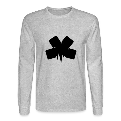 PixelSashay - Black Logo - Men's Long Sleeve T-Shirt