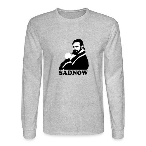 MEGAPOWERS RADIO SADNOW MENS TSHIRT - Men's Long Sleeve T-Shirt
