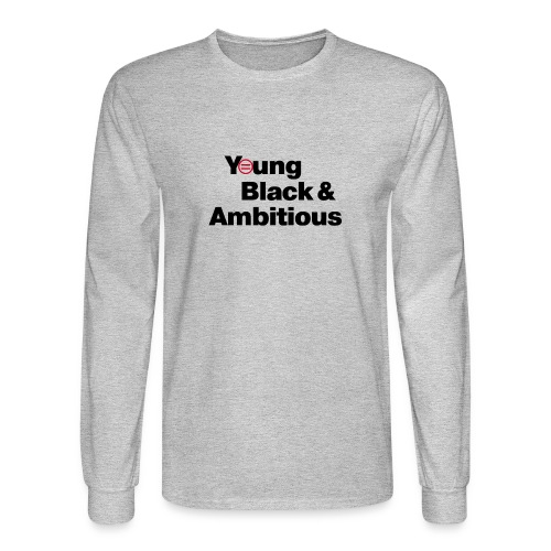 YBA white and gray shirt - Men's Long Sleeve T-Shirt