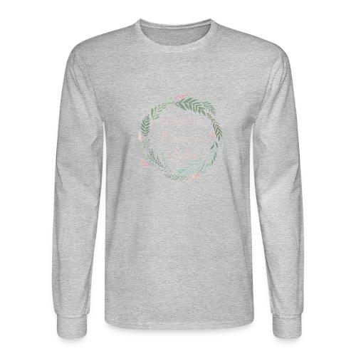 LOD Flower Wreath 1 - Men's Long Sleeve T-Shirt