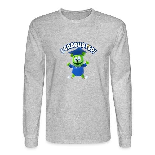 I Graduated! Gummibar (The Gummy Bear) - Men's Long Sleeve T-Shirt
