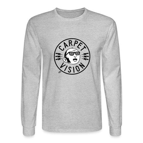 Carpet Vision final png - Men's Long Sleeve T-Shirt