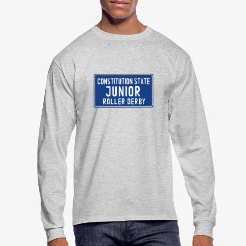 Constitution State Junior Roller Derby - Men's Long Sleeve T-Shirt