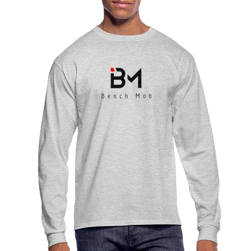 Bench Mob Logo (black) - Men's Long Sleeve T-Shirt