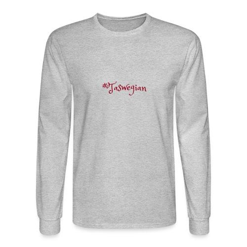 Taswegian Red - Men's Long Sleeve T-Shirt