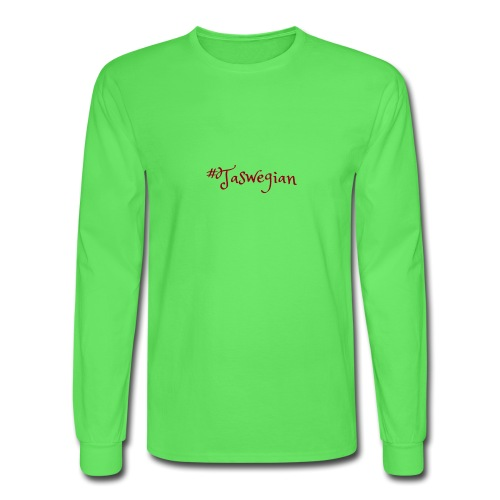 Taswegian Red - Men's Long Sleeve T-Shirt