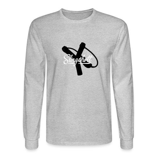 Exclusive Slingshott Logo - Men's Long Sleeve T-Shirt
