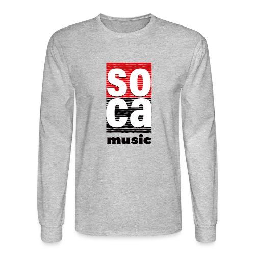 Soca music - Men's Long Sleeve T-Shirt