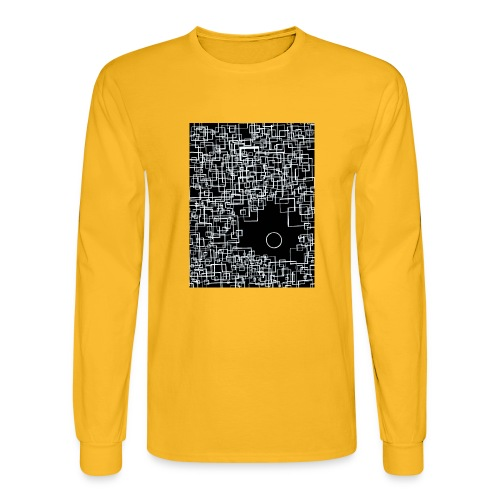 there is one out there negative - Men's Long Sleeve T-Shirt