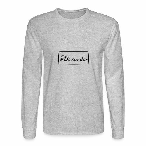 Alexander - Men's Long Sleeve T-Shirt
