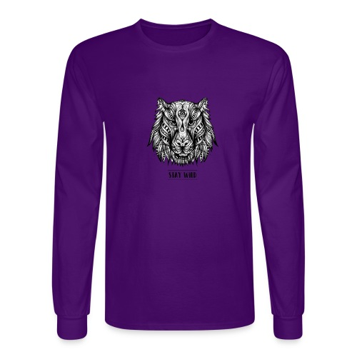 Stay Wild - Men's Long Sleeve T-Shirt