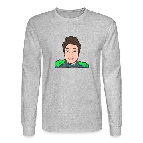 LiamWcool head tee - Men's Long Sleeve T-Shirt