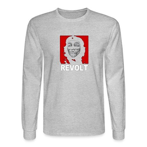 Anonymous Che Revolt Mugs & Drinkware - Men's Long Sleeve T-Shirt