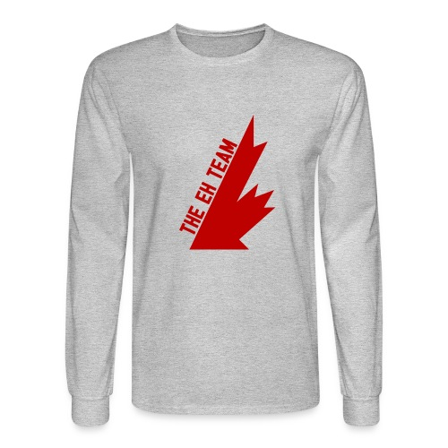 The Eh Team Red - Men's Long Sleeve T-Shirt