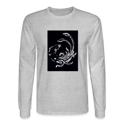 Red Devil - Womens Longsleeve Negative - Men's Long Sleeve T-Shirt