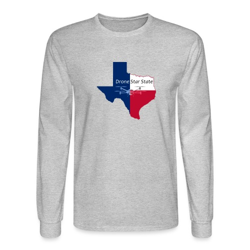 Drone Star State - Men's Long Sleeve T-Shirt